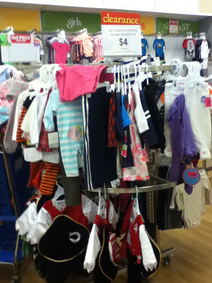 Toys 'r Us and Babies 'R Us winter clearance with outfits