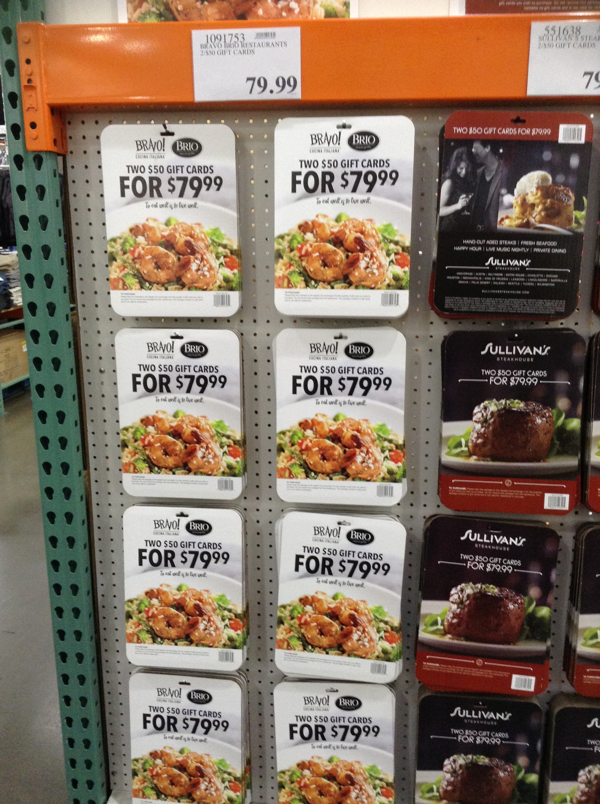 Costco Warehouse Club Discounted Gift Cards Kare Bear Economics